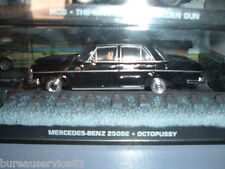 VOITURE NEUVE JAMES BOND 007 CAR COLLECTION - MERCEDES BENZ 250SE
