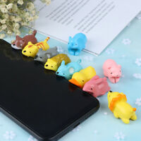 Cartoon Animal Saver Protector USB Charger Cable Data Line Wire Cord  BH