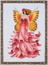 10% Off Nora Corbett/Mirabilia Ctd X-stitch Chart Pixie Blossoms - Foxglove