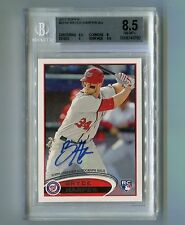 2012 Bryce Harper Topps 661B Rookie BGS 10 Auto 8.5 Overall POP 4 SSP 1st RC $$