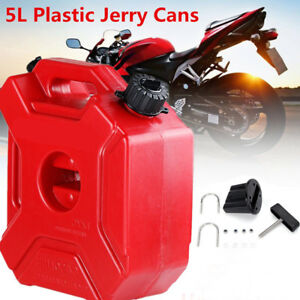 5L Can Gas Diesel Petrol Fuel Tank Oil Container Fuel-jugs for Car Moto