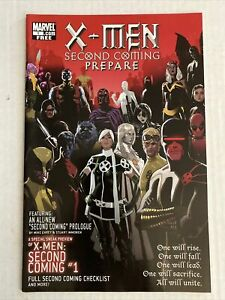 X-MEN SECOND COMING PREPARE #1 ONE-SHOT NM ROGUE WOLVERINE EMMA FROST DEADPOOL