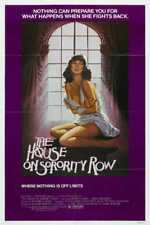 1983 THE HOUSE ON SORORITY ROW VINTAGE HORROR MOVIE POSTER PRINT 24x16