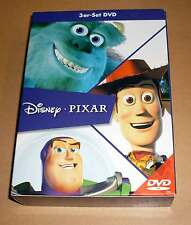 DVD Box - Disney - Pixar 3er-Set - Toy Story 1 + 2 + Die Monster AG