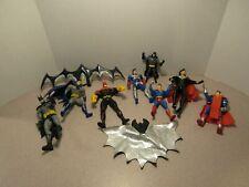 "Super Hero Comic Book Heroes Figures 3-4"" Mixed Lot of 8"