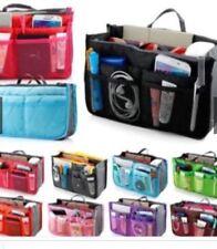 New Travelus Dual Bag Toiletry Cosmetic Make Up Bag Makeup Organizer-Black