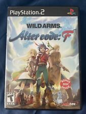 Wild Arms: Alter Code F Sony PlayStation 2, 2005 PS2 SLUS 20937P Complete