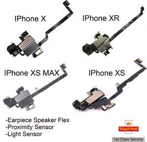 For IPhone X/XR/XS/XS Max Earpiece Speaker, Proximity Sensor Replacement Flex UK