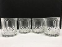 Set Of Four 8 Oz. Crown Royal Rock Glasses