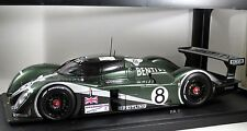 BENTLEY EXP SPEED8 GTP #8 Blundell Brabham Herbert LE MANS 2003 2nd AUTOART 1:18