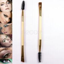 Double End Eyebrow Eyelash Brush Mascara Wands Cosmetic Makeup Brush Applicator