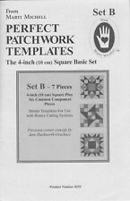 Marti Michell Perfect Patchwork Templates Sets B & D