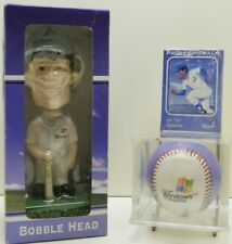 "Microsoft Windows XP Pro Eddy ""Reliable"" Trustman BobbleHead, Baseball, Cards"