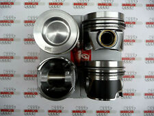 4X PISTONS SET WITH RINGS VW AUDI SEAT SKODA 2.0TDI 16V CRLB CUVC CRMB Ø81MM STD