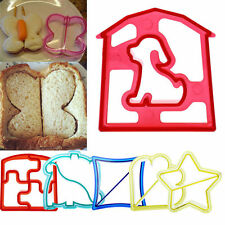 7X Lunch Kid Sandwich Toast Cookies Cake Bread Biscuit Food Cutter Mold Mould