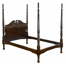 SWC-Grand Mahogany Classical Bed with Eagle Headboard, Southern, c.1830/40