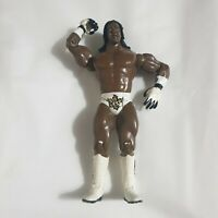 WWE WWF Booker T Jakks 2003 Wrestling Figure White Trunks + Boots