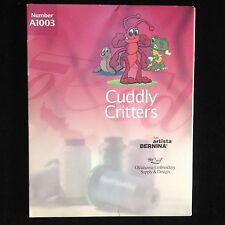 Cuddly Critters Embroidery Designs Card for Bernina Artista 165 170 180 200 Deco