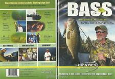 Lindner Fishing Bass Weedline Mechanics Patterns Spinshotting Jigging DVD NEW