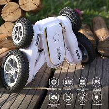 4WD DEERC  360° Flips Remote Control Car RC Stunt Cars Climbing Truck Kids Toy