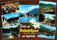 Gruß aus Rottach-Egern am Tegernsee ; Ansichtskarte 1977 gel.