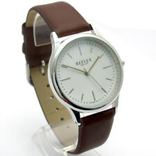 Reflex Smart Modern Men's Gents' Watch Quartz White Dial Chrome Case REF0011