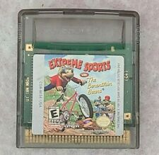 Extreme Sports with the Berenstain Bears for the Game Boy Color Cartridge only