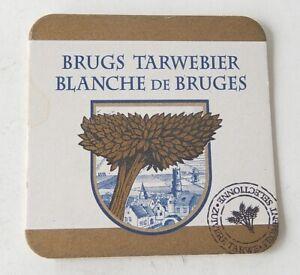 (2) SOUS-BOCK pour la BLANCHE de BRUGES - BRUGS Tarwebier - Bière Belge