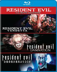 Resident Evil: Damnation / Resident Evil: Degeneration / Resident Evil
