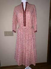 Vintage Martha of Taos Gingham Skirt and Blouse