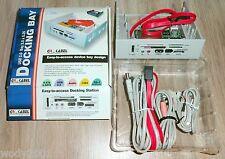 Docking Bay e-SATA s-ATA SM CF/MD SD/MMC USB Audio 1394 PU-140 hell ... ovp