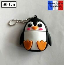 1 Clé USB 2.0 NEUVE 30Go ( USB Flash Drive 30Gb ) - Pingouin ( Penguin )