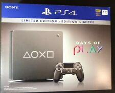 Sony PlayStation 4 Slim 1TB Days of Play 2019 STEEL BLACK Limited Edition NEW