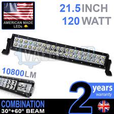 "24v 20"" 120w LED Light Bar Combo IP68 XBD Driving Light Alloy HGV Truck"