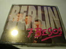 RAR MAXI CD. BERLIN. 7 BESOS. MAX MUSIC. 3 TRACKS