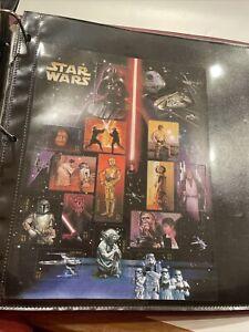 Star Wars 30th Anniversary USPS Stamps Sheet 2007 Yoda Darth Vader C3PO R2-D2