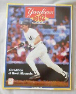 1992 New York Yankees Yearbook - Don Mattingly