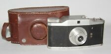 Purma Plus - 1951 127 Film Camera In Brown Leather Case