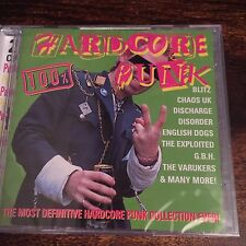 Various Artists - 100% Hardcore Punk (1998) NEW SEALED PUNK CD X2  CAPTAIN OI!