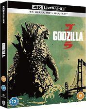Godzilla 2014 4K Ultra HD High Definition UHD + Blu-ray (New Sealed 4K)