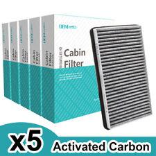 5x Cabin Air Filter For GMC Yukon Sierra Chevy Silverado Suburban Tahoe 52485513