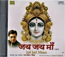"JAGJIT  SINGH  ""JAI JAI MAA"" CD  OF DEVOTIONAL MUSIC  2002 -1"