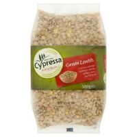 3x Cypressa green lentils 500g ***FREE UK DELIVERY***