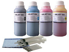 Ink refill kit for HP 63 XL ENVY 4520 OfficeJet 3830 3831 3832 3834 4650 4x250ml