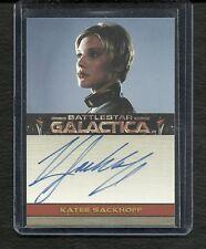 Battlestar Galactica Season 3 Autograph  Katee Sackoff as Kara STARBUCK Thrace