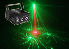 RGB LED Stage 72 Pattern Laser Light Disco DJ Lamp Beam Music Sound Active