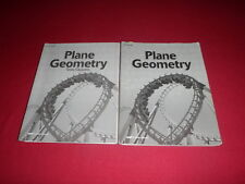 Abeka Plane Geometry Tests and Quizzes and Test Quiz Key