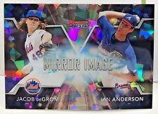 Jacob deGrom/Ian Anderson 2016 Bowman's Best Mirror Image ATOMIC Refractor  1:96