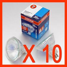x 10 OSRAM Halogen Downlights  MR16 35 W 12V GU 5.3   Bulb  Downlight SYDNEY