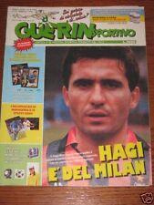 GUERIN SPORTIVO=N°8 1990=MAXIPOSTER MARADONA/STEFI GRAF=MONDIALI ITALIA/AUSTRIA